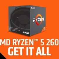 Processor ryzen 5 2600 New