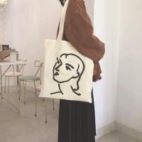 Tas Bahu Wanita Import Murah Branded ARTFACE TOTEBAG