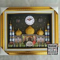 Mahar pernikahan Masjid 30x40 jumbo doble frame