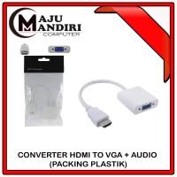 CONVERTER HDMI TO VGA + AUDIO PACKING PLASTIK