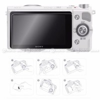 Sony Alpha A5000 A5100 A6000 Lcd Tempered Glass Screen Flash Sale