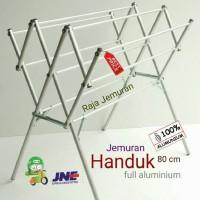 Jemuran Handuk Aluminium 80 Cm Flash Sale