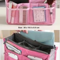 Korean Bag In Bag Organizer Softpink Gonta Ganti Tas Ja Sale