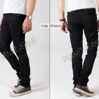 Celana Jeans Panjang Skinny Pria Denim Cowok Pensil Pre Sale