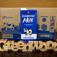 Susu Uht Diamond Full Cream 1 Karton - Khusus Gojek Flash Sale