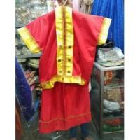 Baju Bodo Tk - Sd // Baju Sulawesi // Baju Makassar //Pakaian Adat