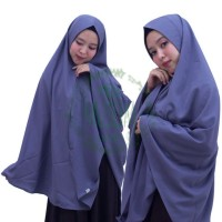 Khimar jumbo/Hijab syari/Jilbab syari sophia soft pet antem