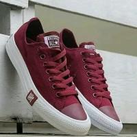 Sepatu Converse ALL Star Petir Warna Maroon