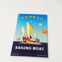 Kertas Karbon Sailing Boat single warna Hitam