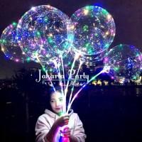 Balon PVC Lampu / Balon LED Stick / Balon LED Tumblr / Balon LED