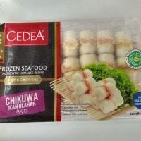 Cedea Chikuwa olahan ikan