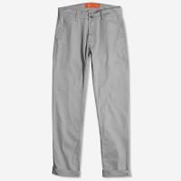 HIGHTY Light Grey Twill Chino Pants