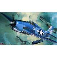 pesawat F6F-3/5 HELLCAT 1/32 Model Kit Hasegawa