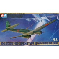 pesawat Nakajima J1N1-S Gekko early 1/48 model kit tamiya