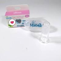 Sikat lidah sikat gigi bayi silikon, sikat pembersih lidah bayi