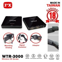 PX Wireless HD Sender WTR 3000 / Wireless Extender PX WTR-3000