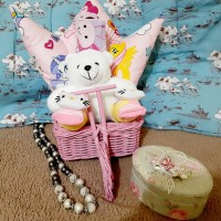 baby hampers/parsel/parcel bayi/baby gift/kado bayi paket A - girl