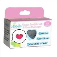Sikat gigi dan lidah bayi atau sikat jari silikon