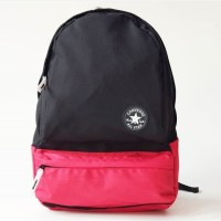 CONVERSE GO PLUS RED BLACK BACKPACK / TAS RANSEL CONVERSE / TAS LAPTOP