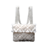 Byo Anatomy Bag in Ghost White