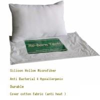 Bantal tidur Re-born Tech(Silicon Hollow Microfiber)