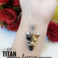 titanium kalung wanita 1019