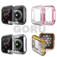 Soft case apple watch series 5 4 TPU 40 44 mm screen cover warna
