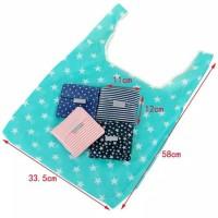 Tas Belanja Lipat / Shopping Bag / Tas Lipat / Tas belanja GoGreen - Bintang Kecil