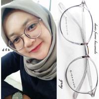 Frame Kacamata GIORDANO Antiradiasi Korea Style Hijab Free Lensa minus