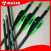 MUSEN 42BS 6mm Spine 600 - Arrow Pure Carbon - Anak Panah Karbon