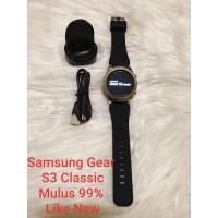 Samsung Gear S3 Classic Second 99% Mulus Original