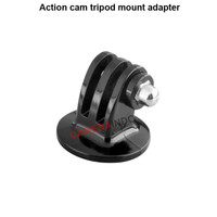 Action cam tripod mount adapter