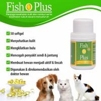 Minyak Ikan Kucing Anjing Fish O Plus Bulu Mengkilat