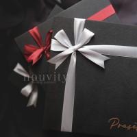 Custom Box Hadiah Souvenir Bridesmaid Bestman Groomsmen Gift Satuan