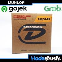 Senar Dunlop Phospor Bronze 10-48 Untuk Gitar Akustik (Original)