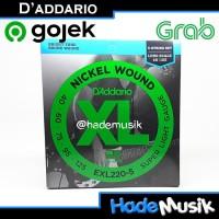 Senar Daddario EXL220-5 Untuk Bass 5 Senar 40 - 125 (Original USA)