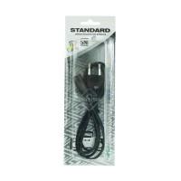 Kabel charger lampu kipas emergency STANDARD Bentuk 8 2 Kabel SNI