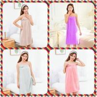 Baju Handuk / Jubah Mandi BathRobe Bentuk Dress Premium