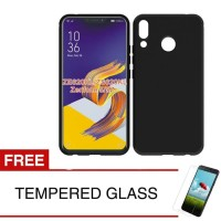 Case for Asus ZenFone 5 2018 6.2  /ZE620KL -Slim Soft Case Hitam