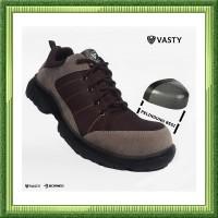 sepatu sefty pria sepatu safety Sepatu Boots Pria Safety ujung besi Tr