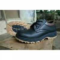 sepatu sefty pria SEPATU SAFETY BOOTS PRIA UJUNG BESI PDL PDH TNI POLR