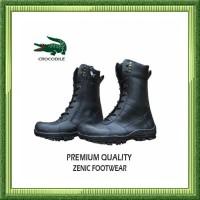 sepatu kulita pria Sepatu PDL PDH Delta Safety Boots Ujung Besi Tni Po
