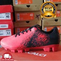 CALCI EMPIRE MARJAN RED BLACK sepatu futsal 2019 sepatu bola sepatu la