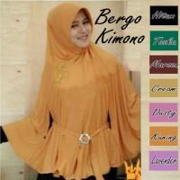 Jilbab/ Hijab Bergo Kimono Berkualitas