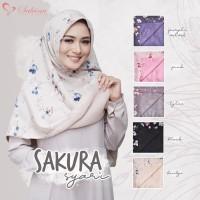 Jilbab Segi Empat Bolak Balik Motif Syar'i Jumbo Limited
