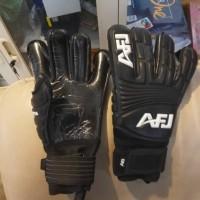 Sarung tangan kiper afj phantom blackout goalkeeper gloves gk glove