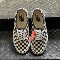 Vans authentic checkerboard golden coast