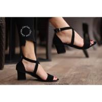 Fashionwanita/Heels/High heels/Hak tinggi/BIG HEELS HAK TAHU MIYUKI
