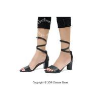 High heels/Heels/Fashionwanita/BIG HEELS HAK TAHU PEDRO HITAM - Hitam,