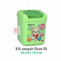 Tempat Sampah Mini Clean Dust Bin 3Liter C-6 Lion Star Kotak Sampah